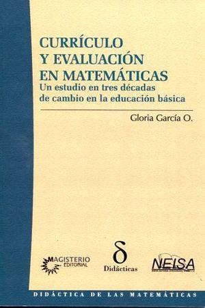 CURRICULO Y EVALUACION EN MATEMATICAS