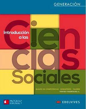 INTRODUCCION A LAS CIENCIAS SOCIALES BACH. 2ED. (GENERACION/EDELV