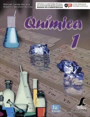 QUIMICA 1 3ED. -COMPETENCIAS-        SC
