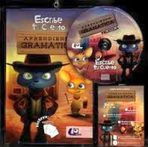 APRENDIENDO GRAMATICA -ESCRIBE TU CUENTO- (LIBRO+DVD)