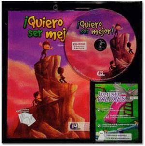 QUIERO SER MEJOR! (LIBRO+CD-ROM)
