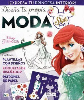 DISEÑA TU PROPIA MODA -DISNEY PRINCESA/ARIEL-
