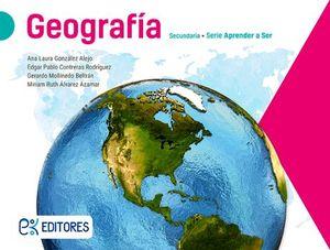 GEOGRAFIA 1 SEC. -APRENDE A SER-  (ED.2018)