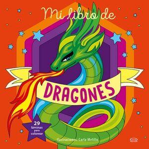 MI LIBRO DE DRAGONES  -29 LAMINAS PARA COLOREAR-