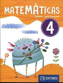 MATEMATICAS 4TO. PRIM. (TRASCENDER/ED.2020)