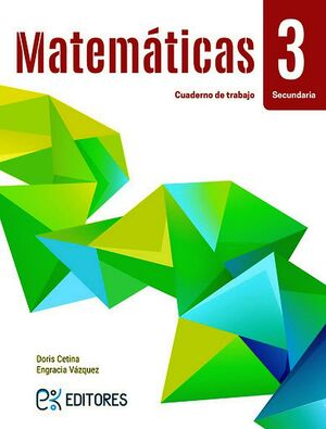 MATEMATICAS 3 SEC. (CUADERNO/ED.2020)
