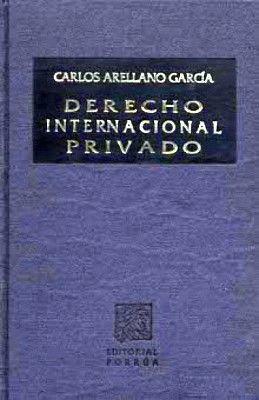 DERECHO INTERNACIONAL PRIVADO        (TELA)