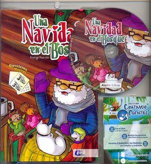 UNA NAVIDAD EN EL BOSQUE      (LIBRO C/CD)