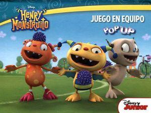 POP UP -HENRY MONSTRUITO/JUEGO EN EQUIPO-