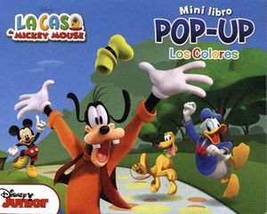MINI LIBRO POP-UP -LOS COLORES-    (LA CASA DE MICKEY MOUSE)