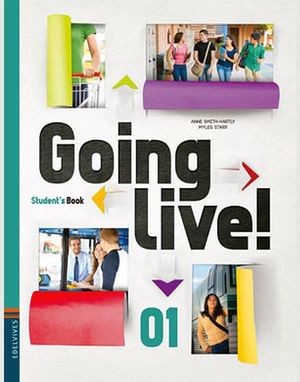 GOING LIVE 01 STUDENT'S BOOK C/CD (EDELVIVES)