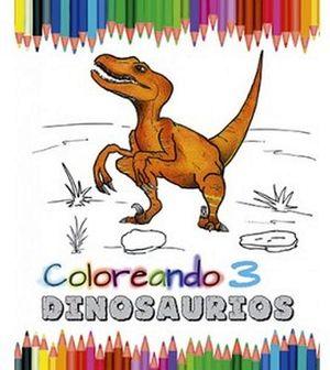 COLOREANDO DINOSAURIOS 3