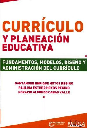 CURRICULO Y PLANEACION EDUCATIVA