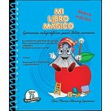 MI LIBRO MAGICO -EJERCICIOS CALIGRAFICOS CURSIVA- (AZUL)