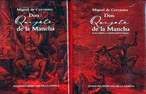 DON QUIJOTE DE LA MANCHA (PAQUETE C/2 LIBROS)