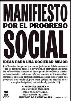 MANIFIESTO POR EL PROGRESO SOCIAL -IDEAS PARA UNA SOCIEDAD MEJOR-
