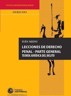 LECCIONES DE DERECHO PENAL - PARTE GENERAL