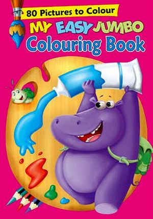 MY EASY JUMBO COLORING BOOK