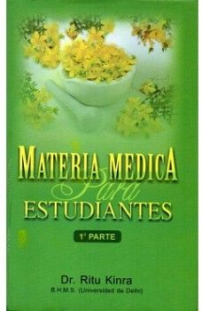 MATERIA MEDICA PARA ESTUDIANTES (1RA. PARTE)  (COL. BJAIN)