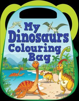 MY DINOSAURS COLOURING BAG