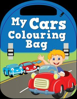 MY CARS COLOURING BAG