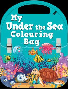 MY UNDER THE SEA COLOURING BAG