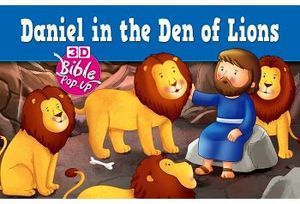 BIBLE POP UP DANIEL IN THE DEN OF LION