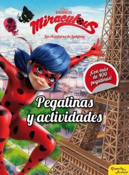 MIRACULOUS -PEGATINAS Y ACTIVIDADES-   (LAS AVENTURAS DE LADYBUG)