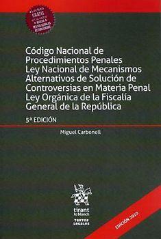 CODIGO NACIONAL DE PROCEDIMIENTOS PENALES5ED. (C/EBOOK)