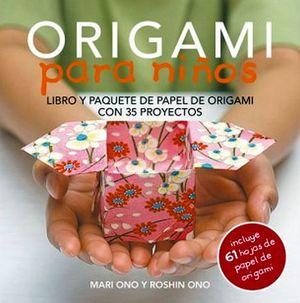 ORIGAMI PARA NIÑOS (C/61 HOJAS DE PAPEL ORIGAMI)
