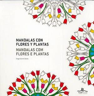 MANDALAS CON FLORES Y PLANTAS