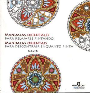 MANDALAS ORIENTALES P/RELAJARSE PINTANDO