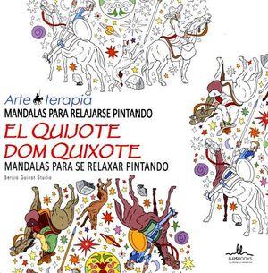 MANDALAS P/RELAJARSE PINTANDO EL QUIJOTE -ARTE TERAPIA-