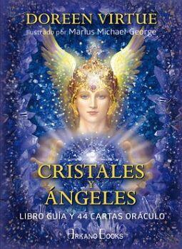 CRISTALES Y ANGELES (LIBRO GUIA Y 44 CARTAS ORACULO)