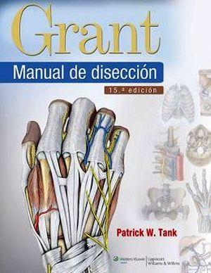 GRANT MANUAL DE DISECCION 15ED.