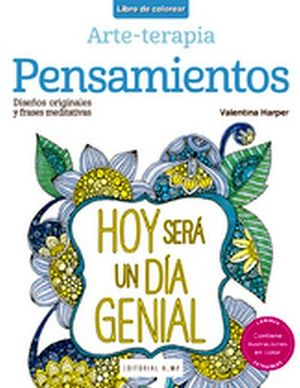LIBRO DE COLOREAR -PENSAMIENTOS- (ARTE-TERAPIA)