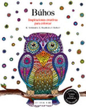 BUHOS -INSPIRACIONES CREATIVAS P/COLOREAR-