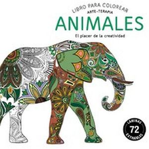 LIBRO PARA COLOREAR -ANIMALES- (ARTE-TERAPIA)
