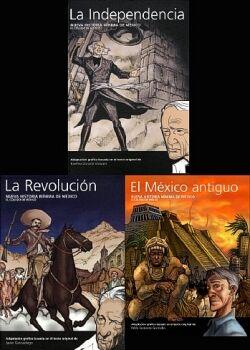 NUEVA HISTORIA MINIMA DE MEXICO -PAQUETE C/3 LIBROS- (REV/IND/ANT