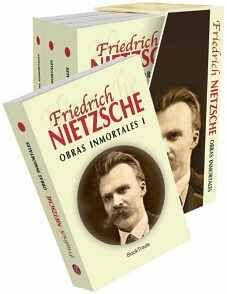 PAQUETE FIEDRICH NIETZSCHE -OBRAS INMORTALES- (C/4 LIBROS)