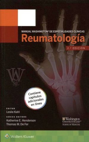 MANUAL WASHINGTON DE ESP.CLINICAS -REUMATOLOGIA- 2ED.