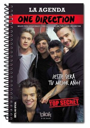 AGENDA ONE DIRECTION, LA                 (B DE BLOK)
