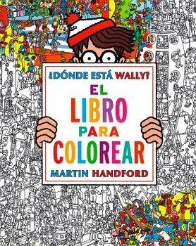 DONDE ESTA WALLY? -EL LIBRO PARA COLOREAR- (B DE BLOCK)