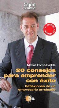 20 CONSEJOS PARA EMPRENDER CON EXITO