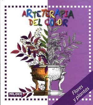 ARTETERAPIA DEL COLOR -FLORES Y PLANTAS- (EMP.)