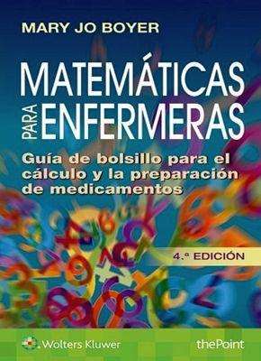 MATEMATICAS PARA ENFERMERAS 4ED