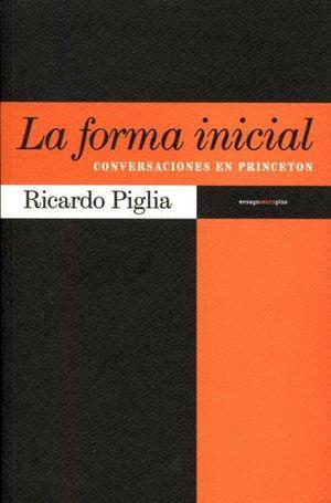 FORMA INICIAL, LA -CONVERSACIONES EN PRINCETON-