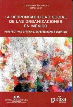 RESPONSABILIDAD SOCIAL DE LAS ORGANIZACIONES EN MEXICO