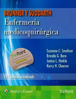 BRUNNER & SUDDARTH ENFERMERIA MEDICOQUIRURGICA (12ED ACTUALIZADA)