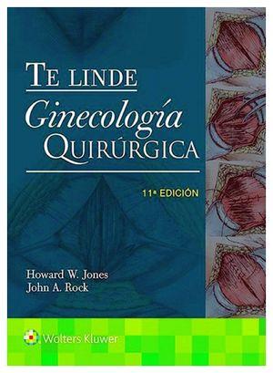 GINECOLOGIA QUIRURGICA -TE LINDE- 11ED. (C/CONT.ADIC.EN LINEA)